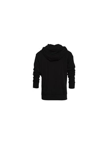 New Balance Kadın Fermuarlı Sweatshirt WPS016-BK Renkli